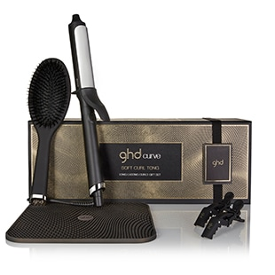 Link to ghd CURVE® LONG-LASTING CURLING TONG GIFT SET