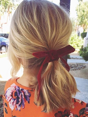Simple Ponytail