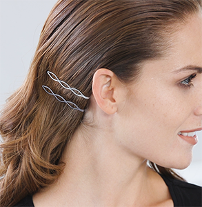 step eleven: Accent hair with clips