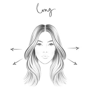 Long Face - Hair Contouring
