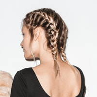 Link to double french braid how-to