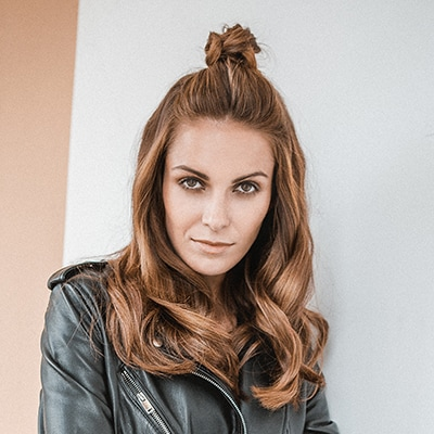 Tousled Top Knot with Curls
