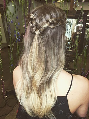 Braided Accent Pony
