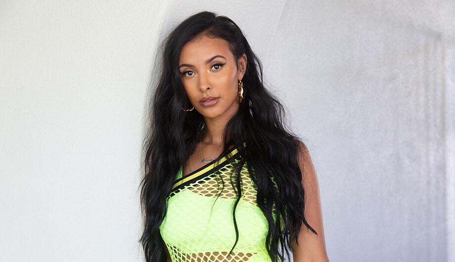 Maya Jama at Coachella
