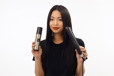Step 1: Use ghd bodyguard before heat styling