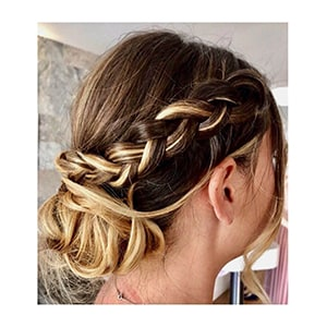 French Braided Chignon