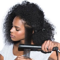 afro to sleek step-by-step guide