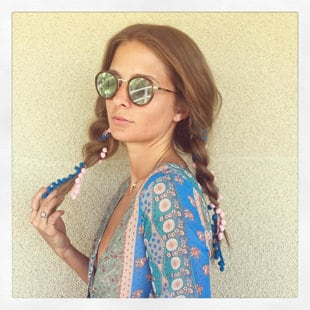 Millie Mackintosh at Coachella with ghd - Day 3