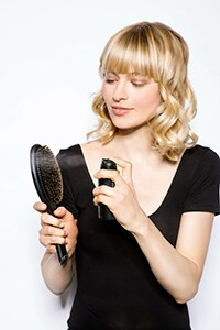 Spritz brush with final shine - Luxe Lob