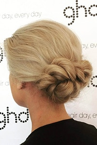 Mastering the art of hair updos