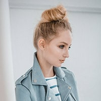 Tousled top knot how-to guide