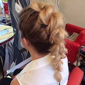 Pull-Through Braid