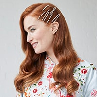 link to adorned hollywood waves how-to