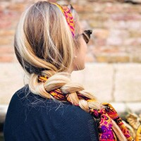 BRAIDED SUMMER HAIRSTYLES