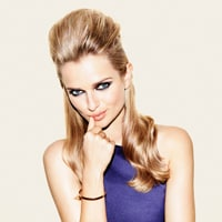 Pretty punk updo how-to guide