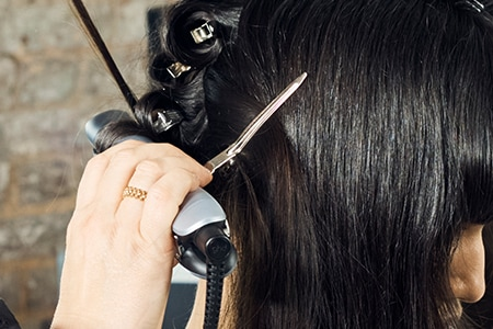 Step 3: Style with the ghd platinum+