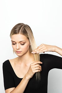 Comb section and pull taught - Creative Embellished Crimp