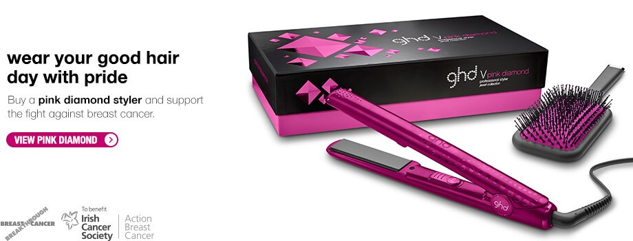 ghd Pink Hair Straightener 2013