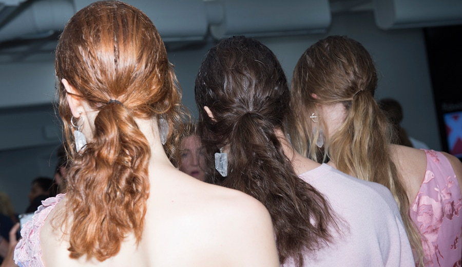 Perfectly Imperfect style at the Preen for Thornton Bregazzi SS18 LFW show