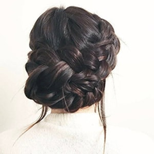 Double Braided Bun