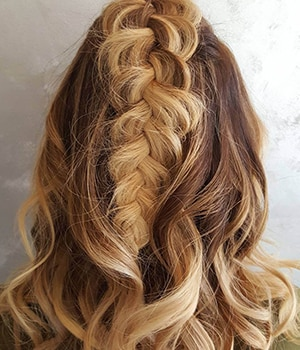 Loose Fishtail Braid