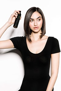 Prep with ghd root lift spray - Textured Bob