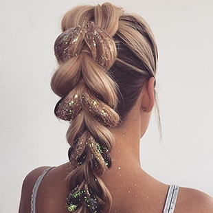 Plaited Ponytail