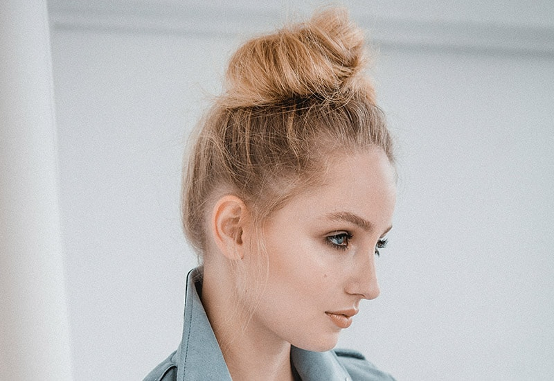 Tousled Top Knot