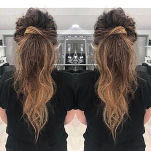 Curly Ponytail