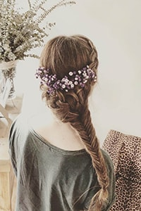Braided wedding hair ideas for brides-to-be