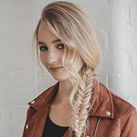 Easy side fishtail