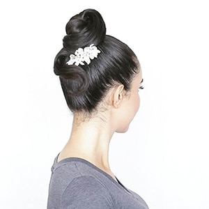 Elegant Top Knot