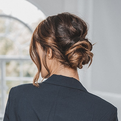 Twisted Low Knot Bun