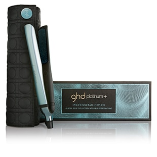 Link to ghd platinum+ glacial blue styler