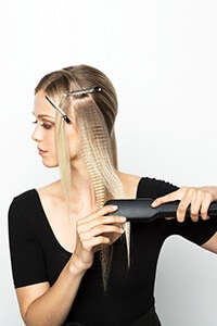Continue down to the end of the section - Subtle Sleek Crimp