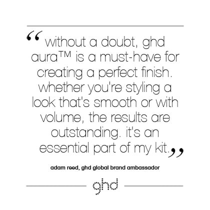 without a doubt, ghd aura™ is a must-have for creating a perfect finish. whether you're styling a look that's smooth or with volume, the results are outstanding. it's an essential part of my kit.