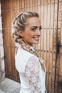 Chic bridesmaid hairstyles