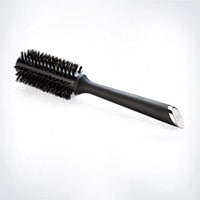 Natural Bristle Radial Brush  Size 1 (28mm barrel)