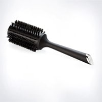 Natural Bristle Radial Brush  Size 3 (44mm barrel)