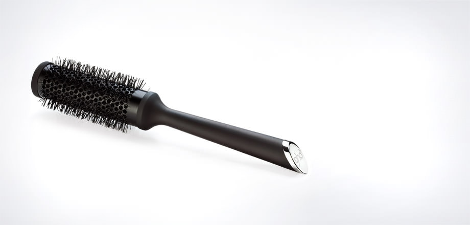 Ceramic Vented Radial Brush  Size 2  (35mm barrel)
