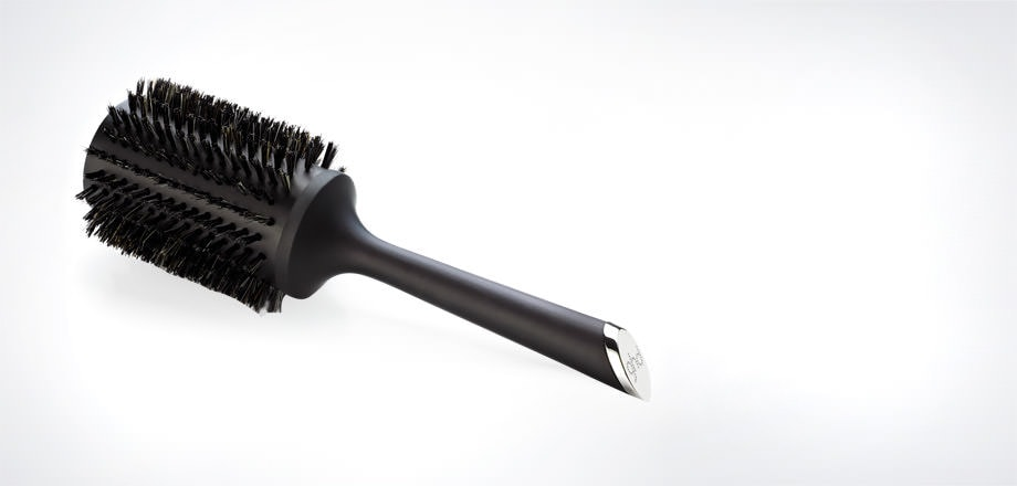 Natural Bristle Radial Brush  Size 4 (55mm barrel)