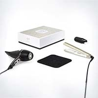 ghd kit deluxe arctic gold