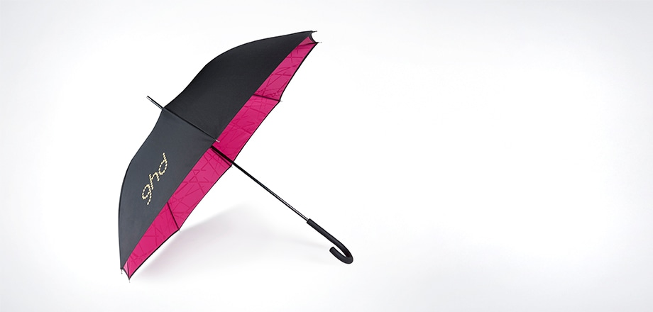 ghd electric pink umbrella