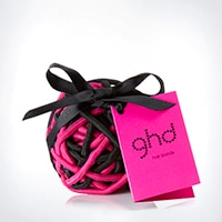 ghd electric pink hair band ball