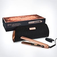 styler ghd V copper luxe gift set