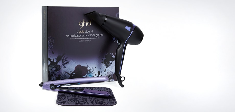 coffret deluxe : styler® ghd gold & ghd air® nocturne