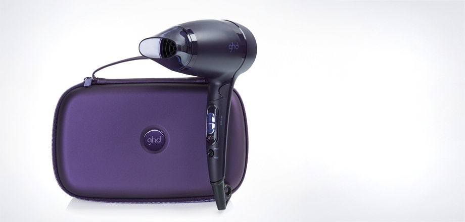 ghd flight® nocturne travel hairdryer