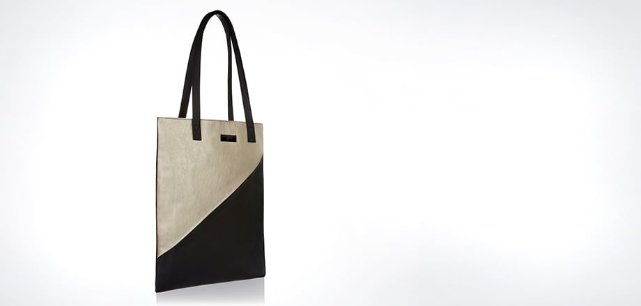 ghd tote bag - pure gold
