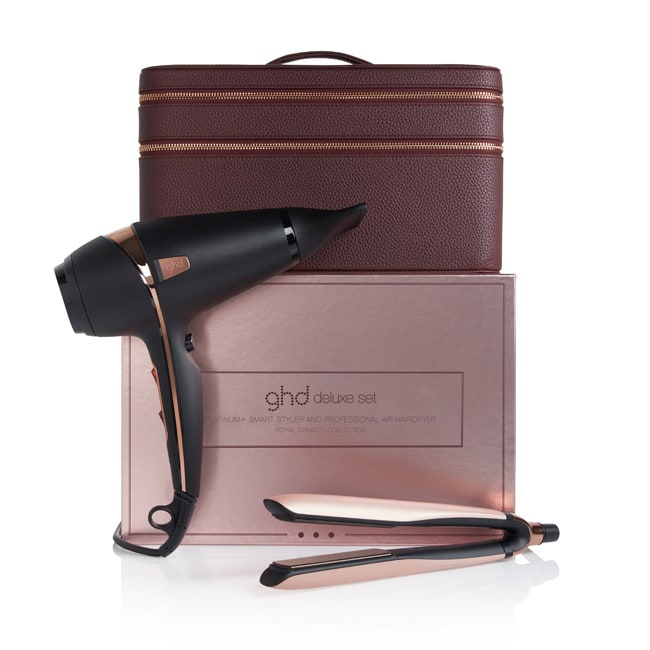 ghd royal dynasty deluxe set (platinum+ & air)