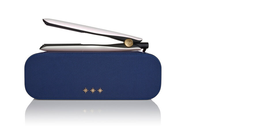 ghd gold® hair straightener in iridescent white